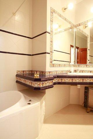 WC habitación hostal Jiménez Azuaga