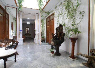 Pasillo habitaciones Hostal Jimenez