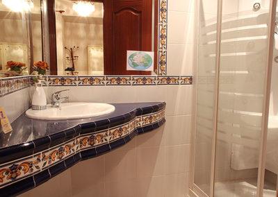 WC habitación hostal Jiménez